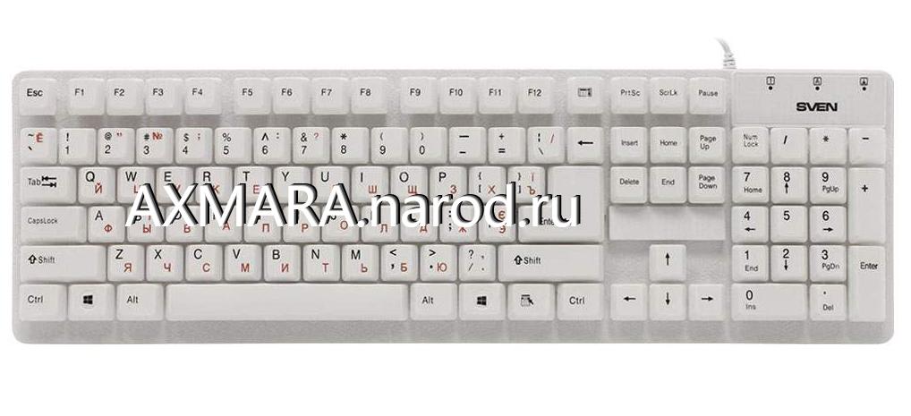 сколько клавиш на клавиатуре