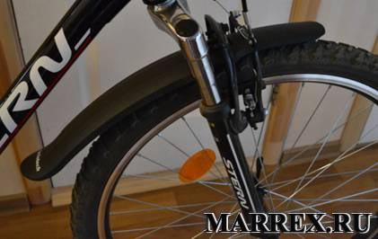 Переднее крыло на велосипеде stern dynamic 2.0.